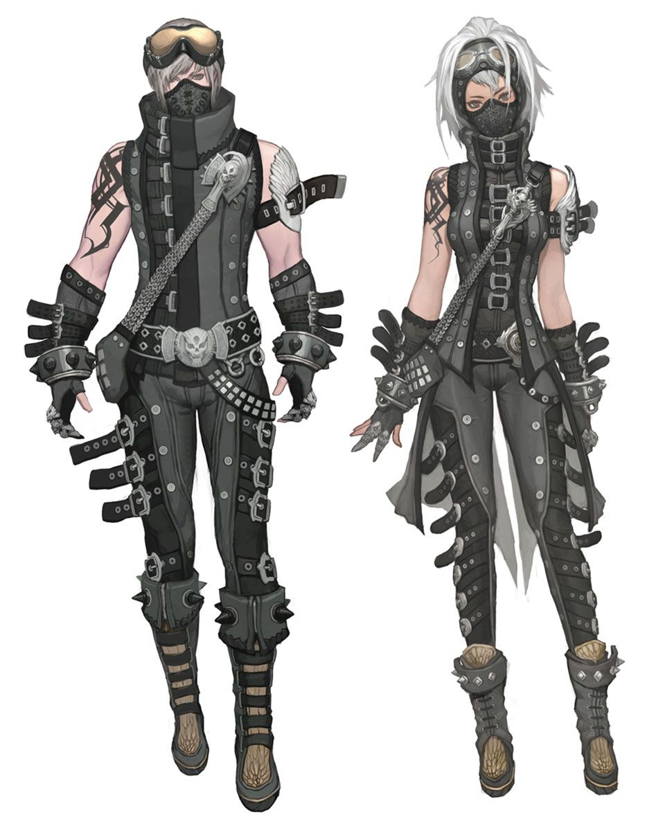 png stock Drawing outfits leather. Crafted armor from aion