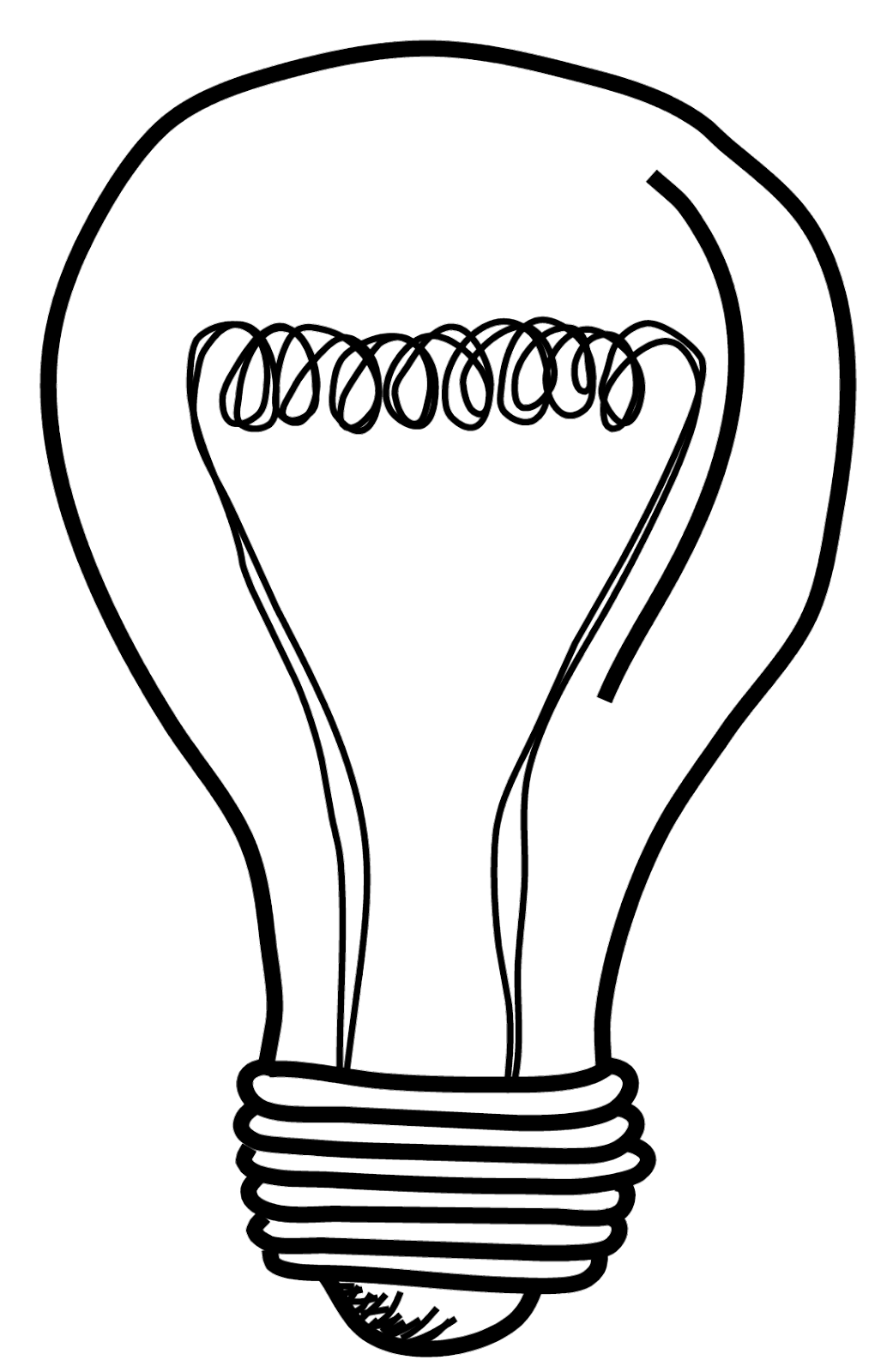 image free stock Light Bulb Drawing at GetDrawings