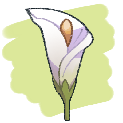 vector transparent Draw A Flora