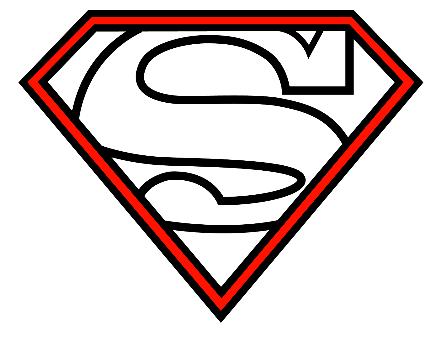 svg transparent library How to draw superman Logos
