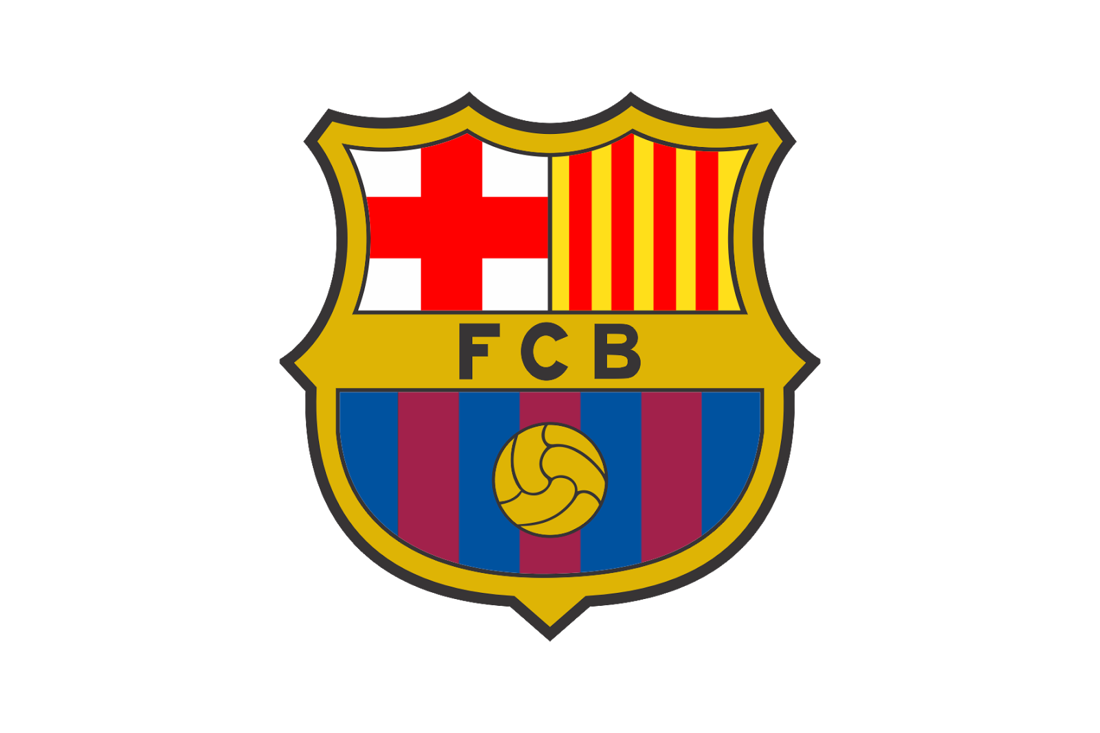 picture royalty free download FC Barcelona Logo