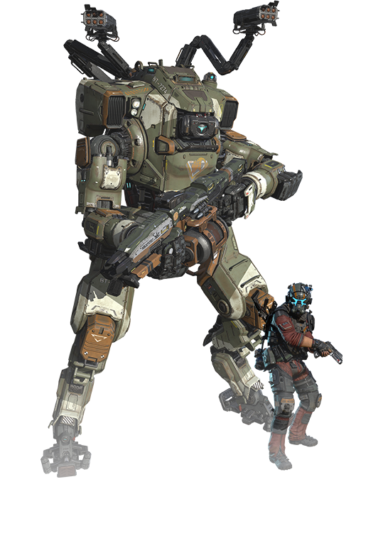 vector royalty free stock Titanfall