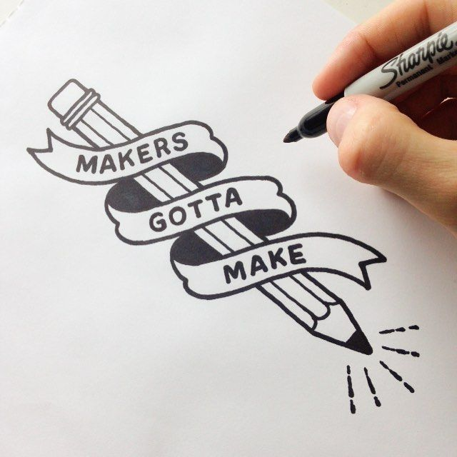 vector royalty free Drawing maker. Any will tell you