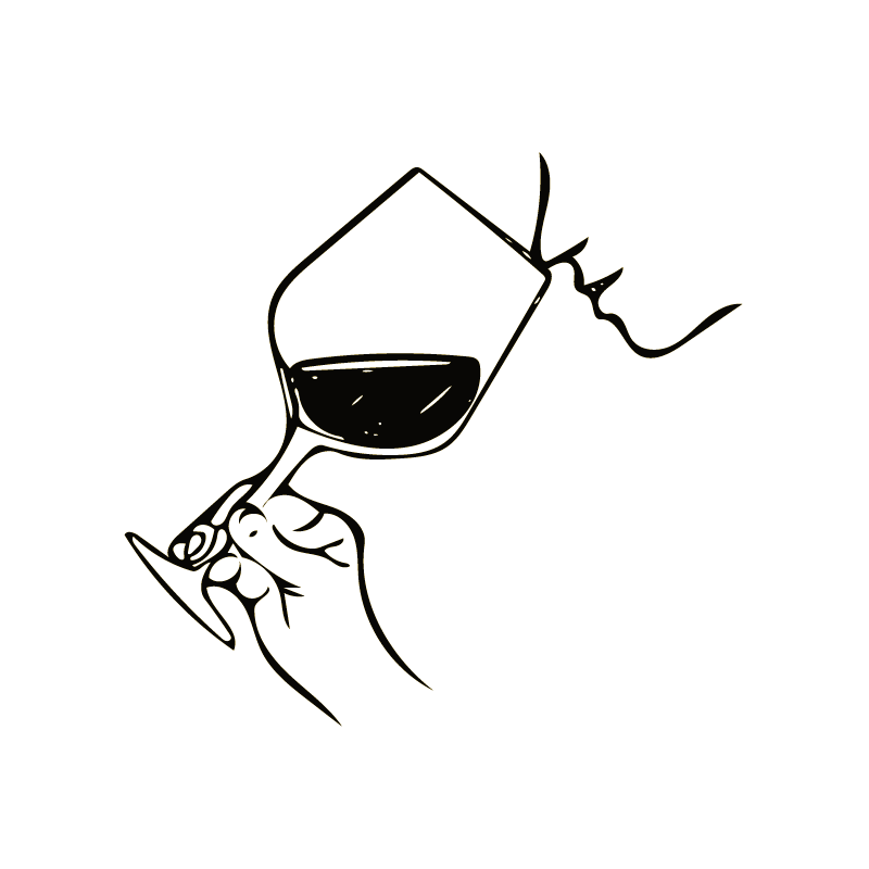 jpg black and white Drawing maker masterclass. Your taste for wine