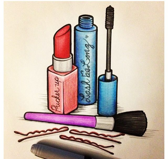 banner free download Sketch drawings to draw. Drawing makeup
