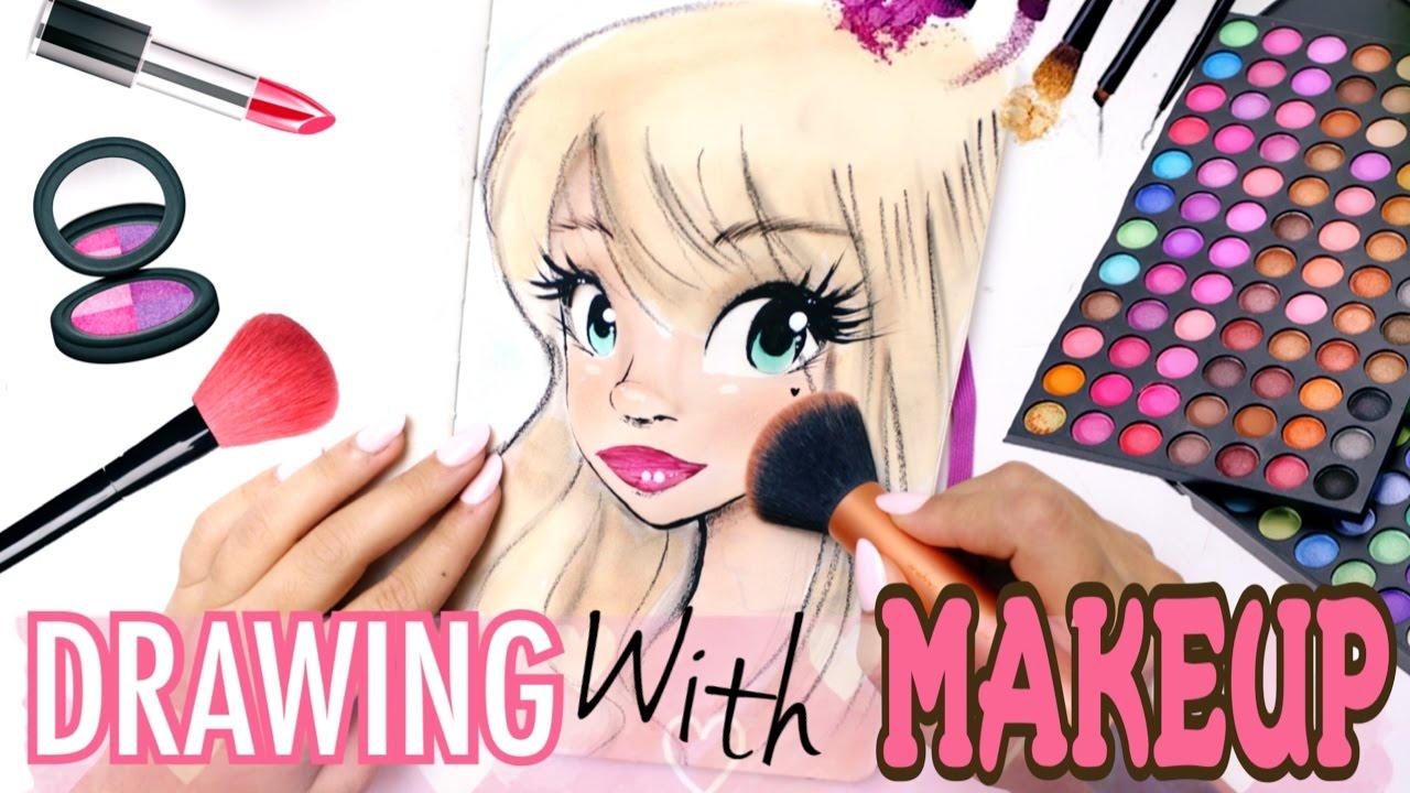 vector freeuse Drawing makeup.