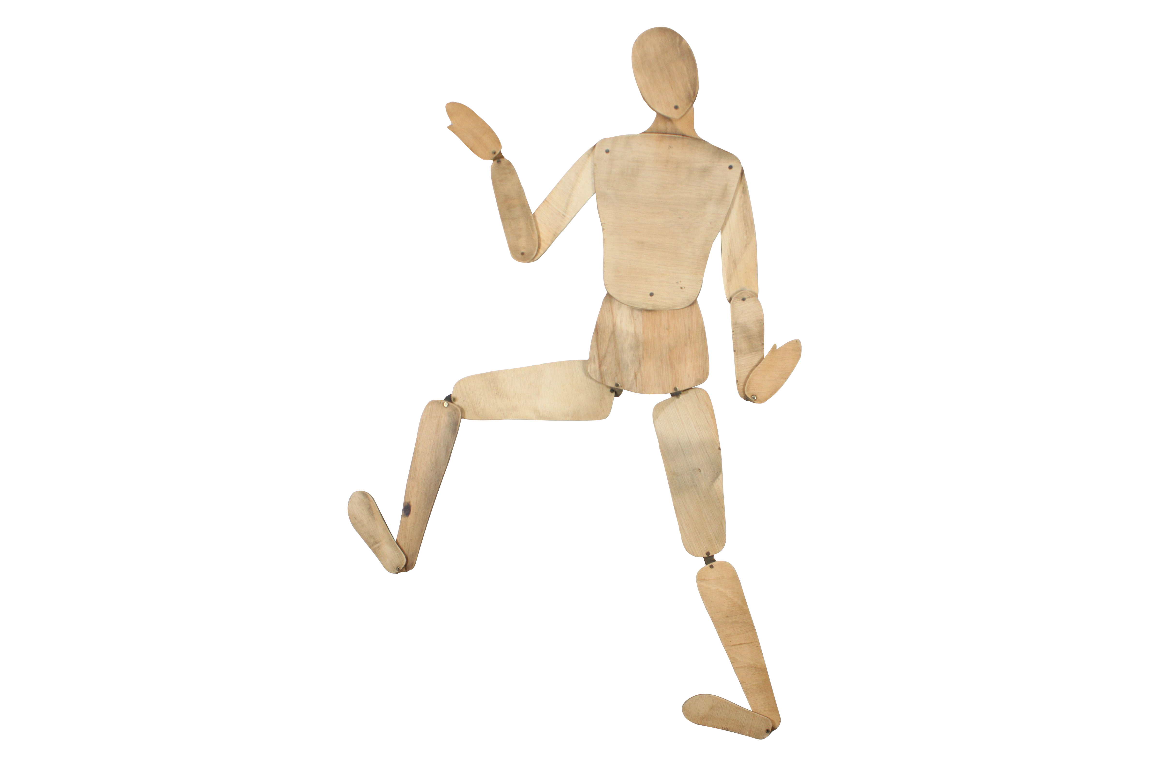 image stock Drawing manican wooden manikin.  french mannequin for