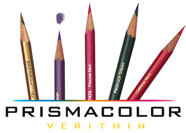 image black and white library Prismacolor Verithin Pencils