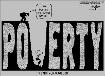 black and white stock Poverty