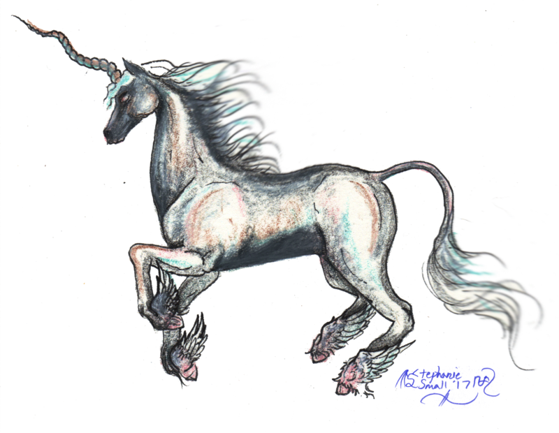free library El Alicornio Unicornio Unicorn Stallion Horse Pony by StephanieSmall