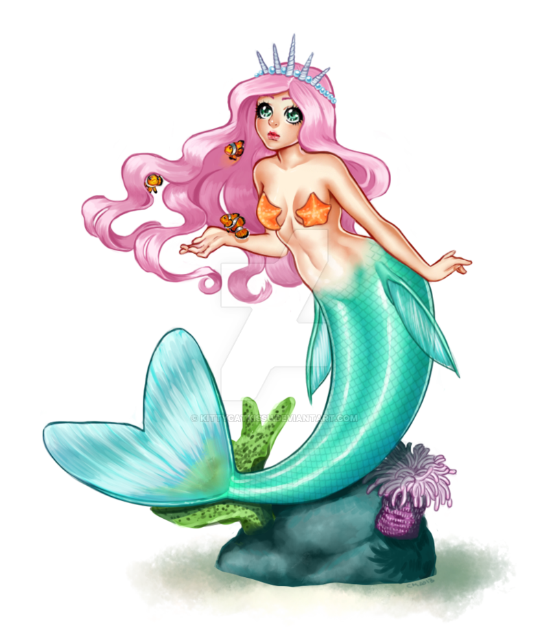 banner royalty free download Kawaii Pastel Mermaid by KittyCatKissu on DeviantArt