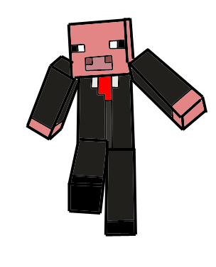 banner free download cartoon minecraft character drawing