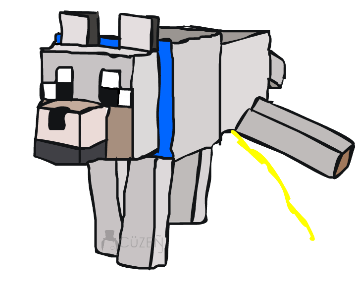 clip art transparent library drawing minecraft custom #95182877