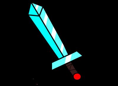 svg library Diamond Sword by stevejunior on DeviantArt