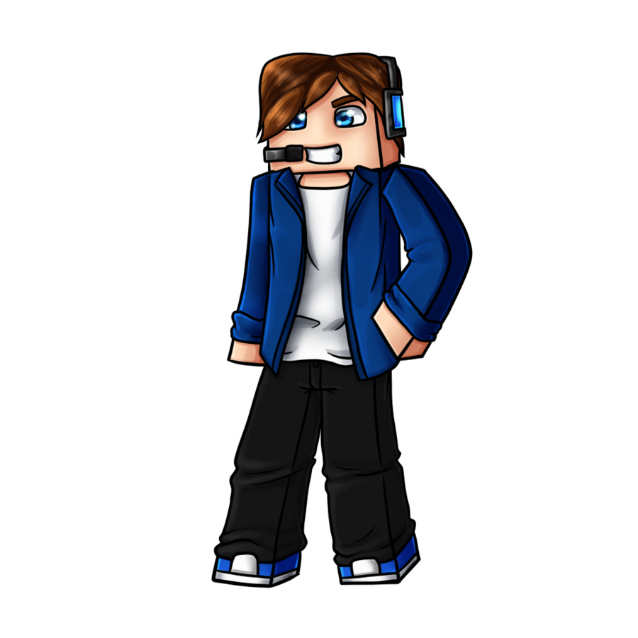 picture freeuse stock drawing minecraft kid #95183717