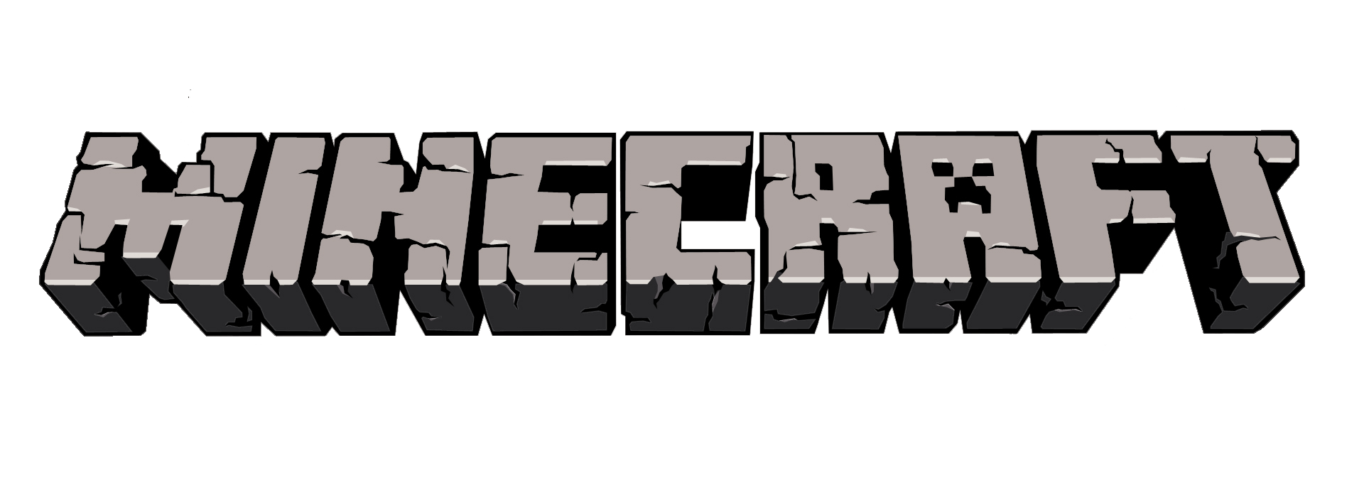 freeuse stock drawing minecraft logo #95182456