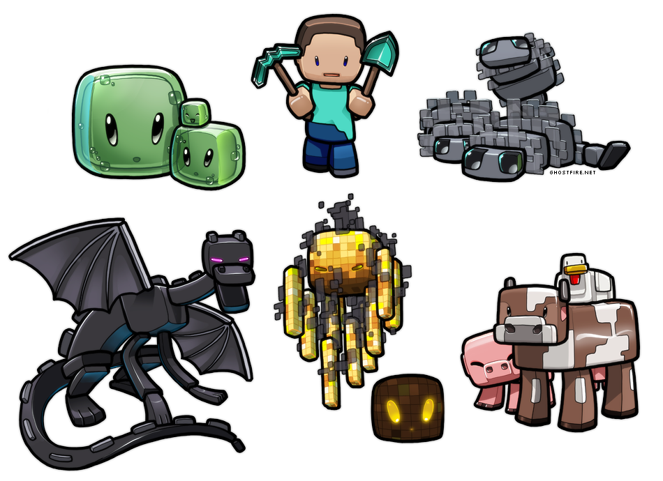png freeuse download drawing minecraft monsters #95177991
