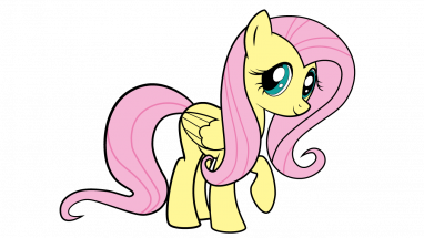 vector black and white library How to Draw Fluttershy