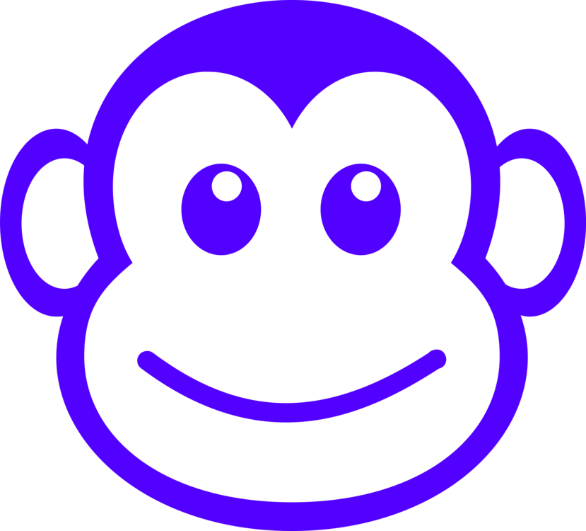svg transparent library Drawing Monkey Chimpanzee Download Art free commercial clipart