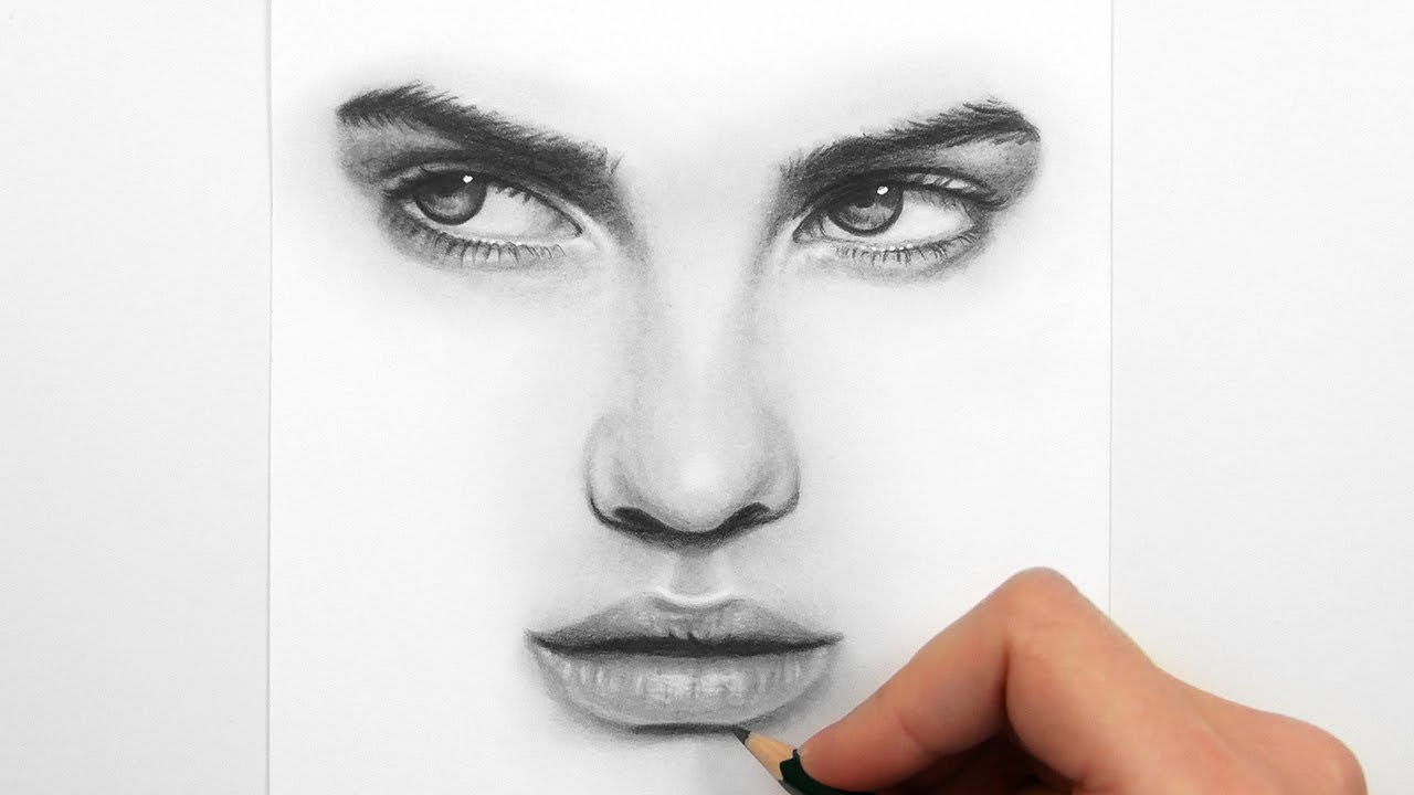 svg black and white stock Eyes and lips with. Drawing mouth nose