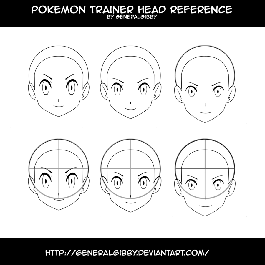 clip transparent download Pokemon Trainer Head Reference by GeneralGibby on DeviantArt