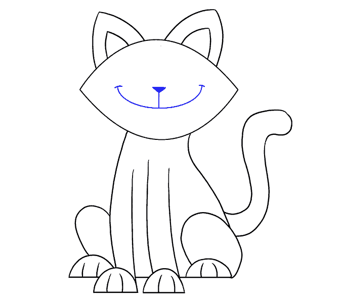 png transparent How to Draw a Simple Cat
