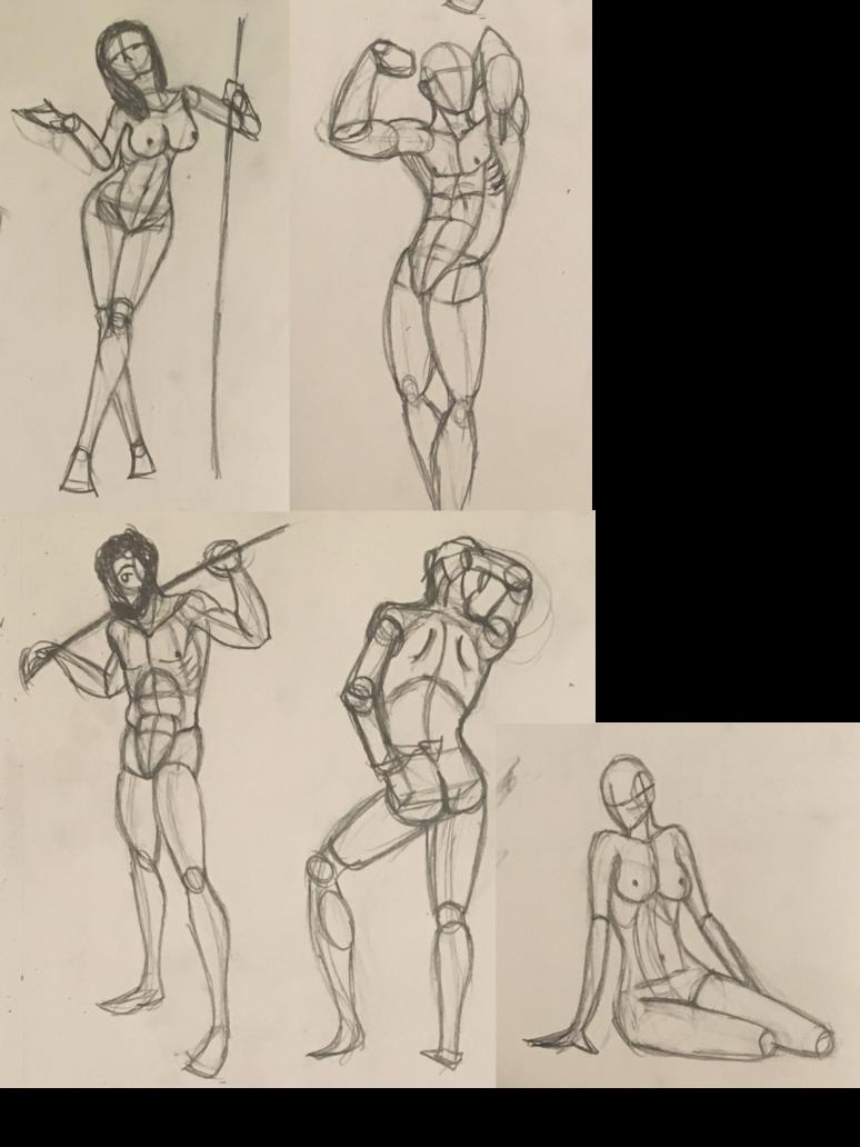 png library stock Body sketch dump by JakiraJurosawa on DeviantArt