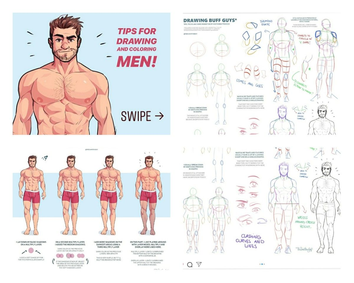 clipart transparent stock damnthingguy tutorial on how to draw buff guys in
