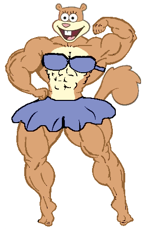 graphic free stock Muscle Sandy Flexing by TheFranksterChannel on DeviantArt
