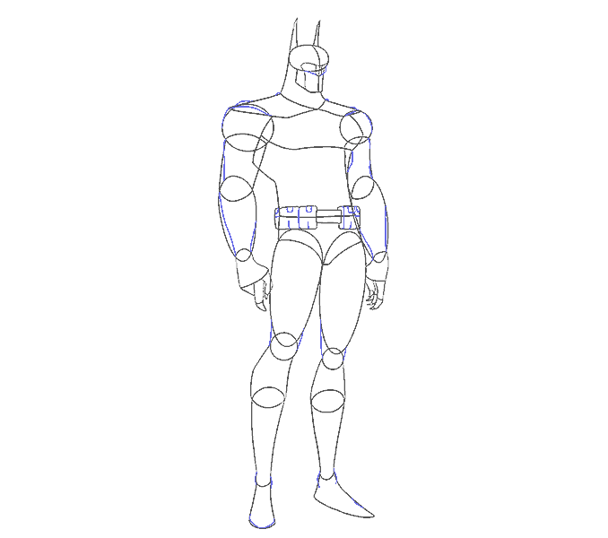 clip art How to Draw Batman