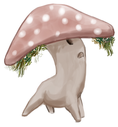 graphic freeuse library Mushroom Person thing by cudo
