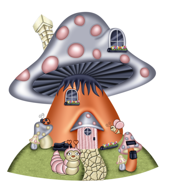 picture Drawing mushroom hippie. Image du blog zezete.