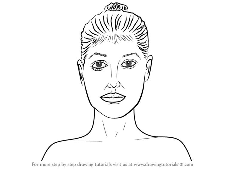 picture download Learn how to draw. Drawing necks female