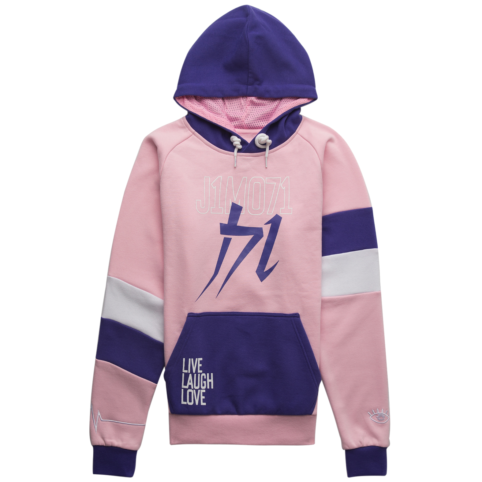 vector black and white Asia light pink . Drawing neck hoody