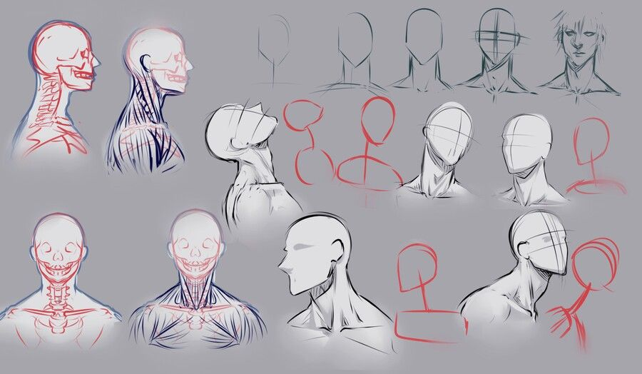 png black and white download Male pose reference deviantart. Drawing neck poses
