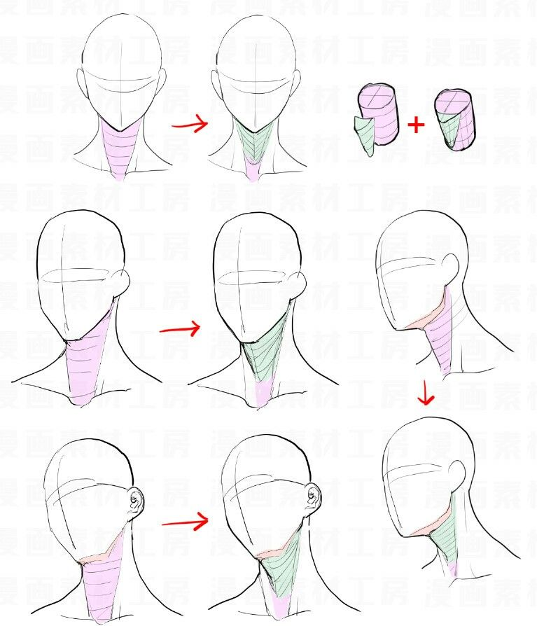 picture free download Drawing neck poses. Reference figures drawings anatomy