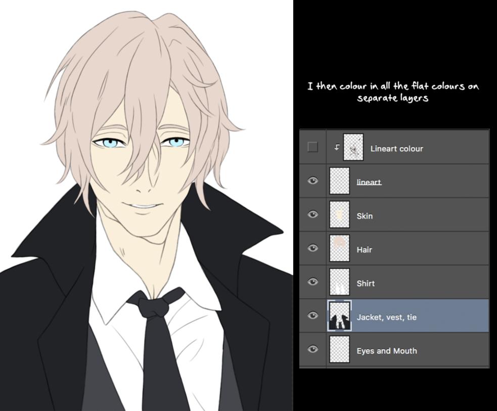 download Start to finish anime. Drawing necks shading
