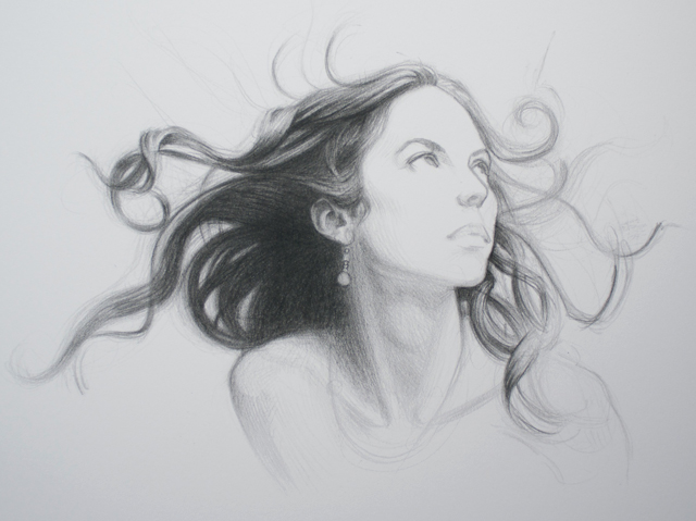 image freeuse library How to draw hair. Drawing neck shading