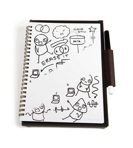 svg free Drawing notebooks. Wipebook reusable erasable whiteboard