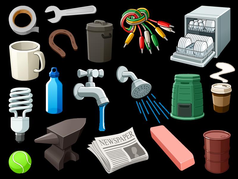clip royalty free library Random Objects