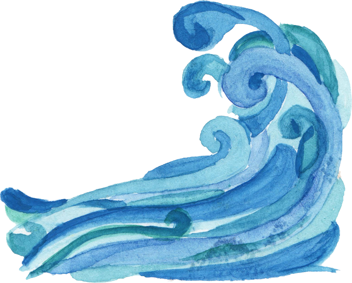 vector freeuse surfer drawing blue watercolor #104091834
