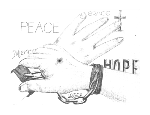 banner transparent Drawing out reaching. Hands at getdrawings com