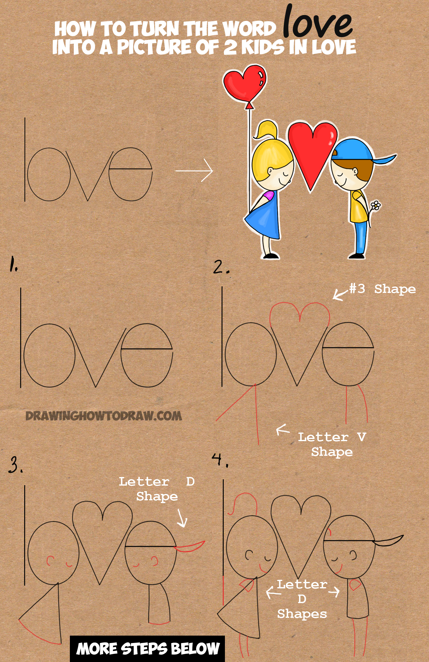 vector transparent download Drawing out word. How to draw cartoon