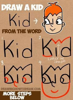 clipart royalty free download How to draw a. Drawing out word