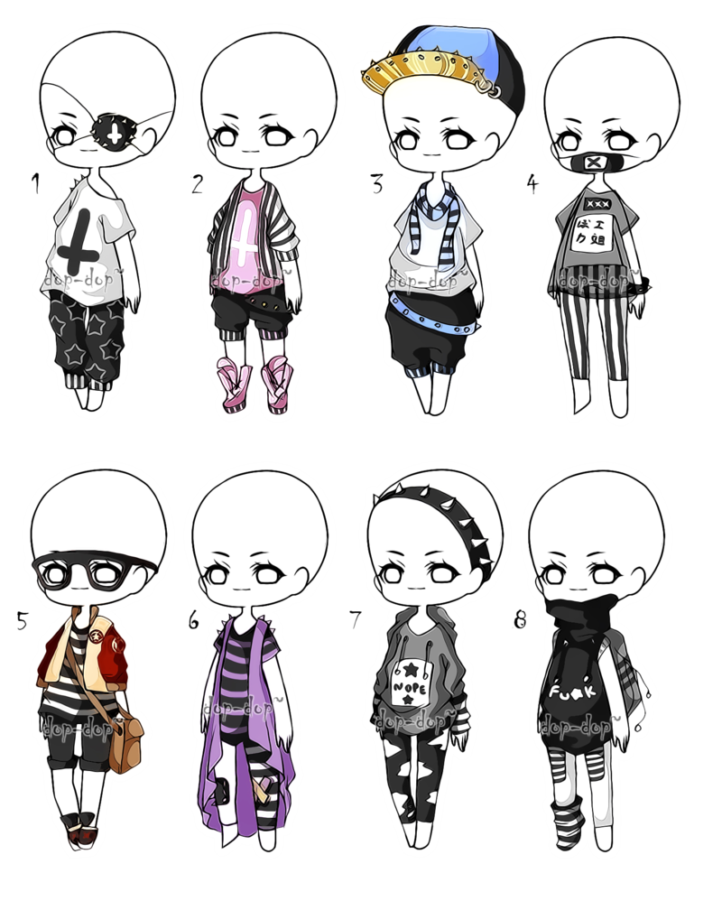 graphic black and white library Outfitadoptsbatch closed by adop. Drawing outfits