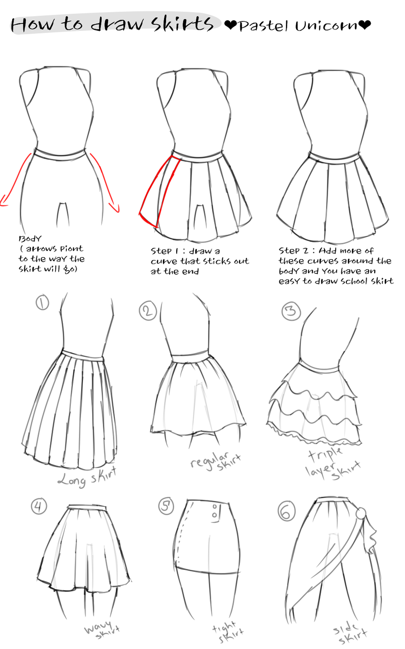 png library download How to draw clothes. Drawing outfits clothing