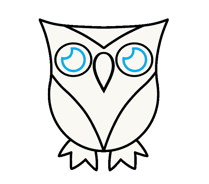 vector library download How to Draw a Cartoon Owl in a Few Easy Steps