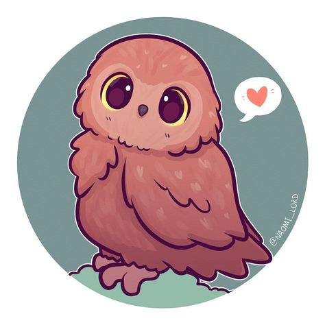 picture library library An as requested i. Drawing owl chibi