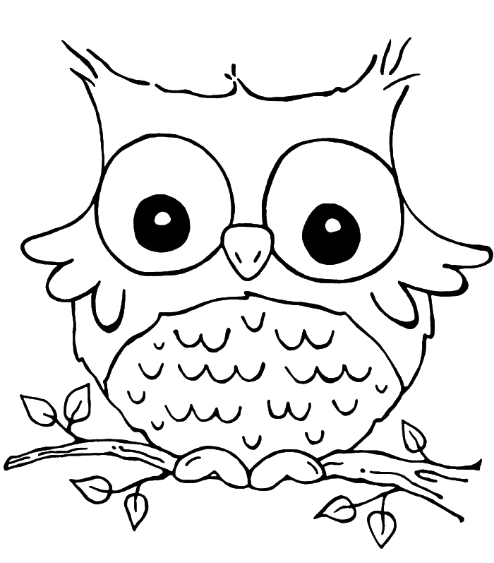 clip art stock Son of funny grieving. Drawing owl kid