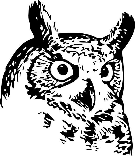 clipart transparent library Small at getdrawings com. Drawing owl spotted
